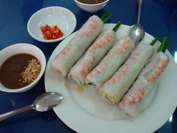 Ryżowe rollsy z warzywami