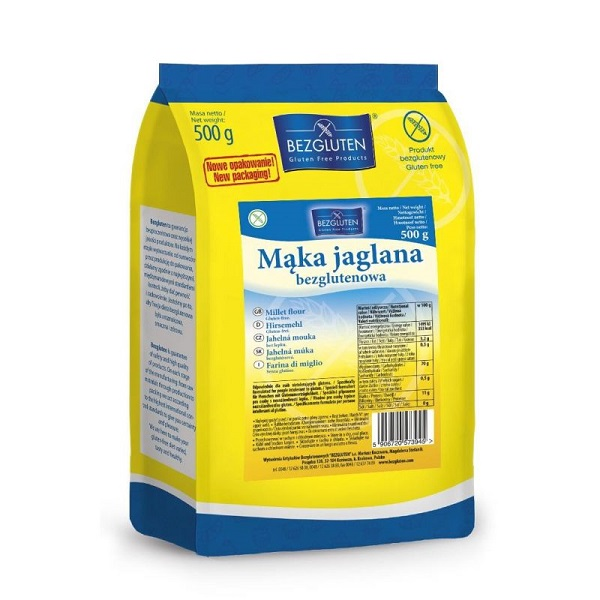 mąka jaglana bezglutenowa 500g bezgluten